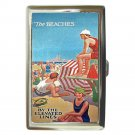 CHICAGO BEACHES BY THE ELEVATED LINES Cigarette Money Case ID Holder or Wallet