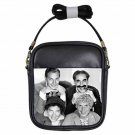 MARX BROTHERS GROUCHO CHICO HARPO ZEPPO Leather Sling Bag Small Purse