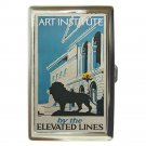 CHICAGO ART INSTITUTE BY ELEVATED LINES Cigarette Money Case ID Holder or Wallet