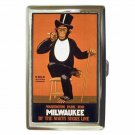CHILO THE HUMAN CHIMPANZEE MILWAUKEE Cigarette Money Case ID Holder or Wallet!