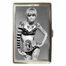 GOLDIE HAWN TATTOO LAUGH-IN Cigarette Money Case ID Holder or Wallet! WOW!