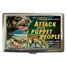 ATTACK OF THE PUPPET PEOPLE Cigarette Money Case ID Holder or Wallet! WOW!