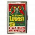 BELA LUGOSI Live Edgar Allan Poe's Tell Tale Heart Cigarette Money Case Wallet!