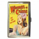 WOMEN IN CRIME THE SHE VULTURE Cigarette Money Case ID Holder or Wallet! WOW!