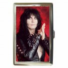 BLACKIE LAWLESS W.A.S.P. WASP WILD Cigarette Money Case ID Holder or Wallet! WOW