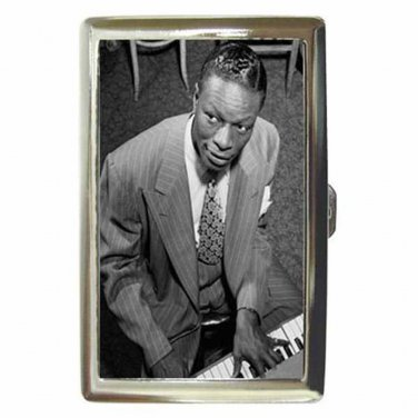 NAT KING COLE MR. SMOOTH Cigarette Money Case ID Holder or Wallet! WOW!