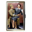 JOHN WAYNE CLAUDETTE COLBERT WITHOUT RESERVATIONS Cigarette Money Case Holder