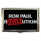 RON PAUL REVOLUTION END THE FED! Cigarette Money Case ID Holder or Wallet! WOW!