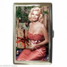 JAYNE MANSFIELD CHRISTMAS UNWRAP Cigarette Money Case ID Holder or Wallet! WOW!