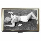MARILYN MONROE LAY IN THE GRASS Cigarette Money Case ID Holder or Wallet! WOW!