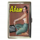 ADAM Men's Magazine Sexy Hot 1950's Cigarette Money Case ID Holder or Wallet