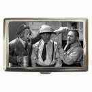 THREE STOOGES COOKING CLASSIC Cigarette Money Case ID Holder or Wallet! WOW!