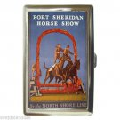 FORT SHERIDAN HORSE SHOW ILLINOIS Cigarette Money Case ID Holder or Wallet