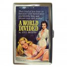 A WORLD DIVIDED LESBIAN PULP Cigarette Money Case ID Holder or Wallet! WOW!