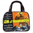 SON OF FRANKENSTEIN Bela Lugosi Boris Karloff Black Leather Handbag Purse