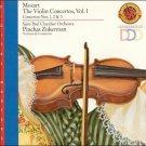 Mozart: Violin Concertos Nos. 1-3 by Pinchas Zukerman (CD, CBS Records)