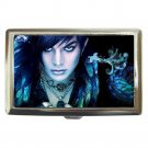 ADAM LAMBERT WE CAN FLY SO HIGH Cigarette Money Case ID Holder or Wallet! WOW!