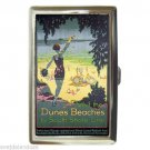 INDIANA DUNES BEACHES SOUTH SHORE LINE Cigarette Money Case ID Holder or Wallet!