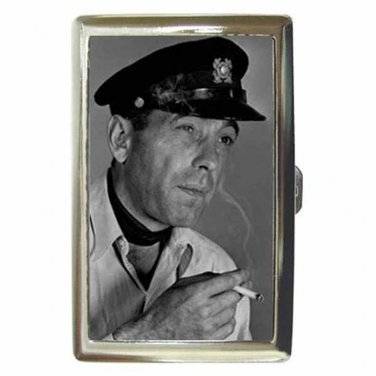 HUMPHREY BOGART TO HAVE AND HAVE NOT 2 Cigarette Money Case ID Holder or Wallet
