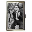 MARX BROTHERS GROUCHO GO WEST INDIAN Cigarette Money Case ID Holder or Wallet!