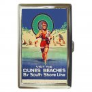 INDIANA DUNES BEACHES SOUTH SHORE CHICAGO Cigarette Money Case ID Holder Wallet!