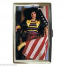 MARC BOLAN T. REX AMERICAN FLAG Cigarette Money Case ID Holder or Wallet!