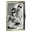 KILLER BARBIES BARBYS SILVIA SUPERSTAR Flip Top Lighter and Cigarette Case Combo