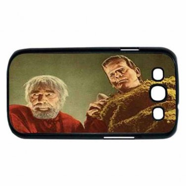 BORIS KARLOFF BELA LUGOSI SON OF FRANKENSTEIN Samsung Galaxy S III Case (Black)