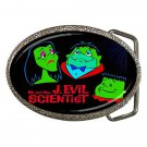 MR. AND MRS. J. EVIL SCIENTIST GRUESOMES Belt Buckle NEW!