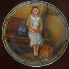 NORMAN ROCKWELL 1985 A Young Girl's Dream Knowles Collector Plate COA & Box