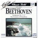 NANUT SCHOLZ LIZZIO Beethoven: Symphonies Nos. 1 & 2; Prometheus CD