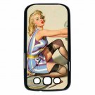 GIL ELVGREN SEXY PIN UP CHANGING TIRE Samsung Galaxy S III Case (Black)
