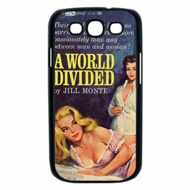 A WORLD DIVIDED LESBIAN BAD GIRLS Samsung Galaxy S III Case (Black)