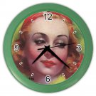 CAROLE LOMBARD STUNNING Wall Clock Artwork from 1936! WOW!