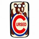 CHICAGO CUBS CURSED WHITE SOX CARDINALS Samsung Galaxy S III Case (Black)