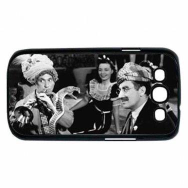 MARX BROTHERS GROUCHO HARPO BIG STORE Samsung Galaxy S III Case (Black)