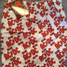 AC/DC LOGO NEW BOXER SHORTS BY USHY Officially Licensed Product From 1997