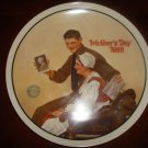 NORMAN ROCKWELL Mother's Day 1988 My Mother Knowles Plate COA Limited Ed.
