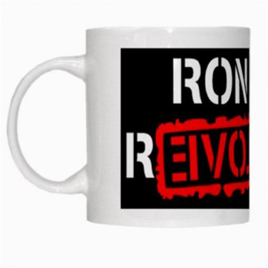 Ron Paul Revolution Freedom and Liberty New 11oz Coffee Mug