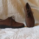 Super Sharp Easy Spirit Brown Suede Shoes Oxfords Size 9.5 M