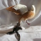 """009 Spectacular HUGE 12""""  Vintage Bird Ornament  W Feathers Mulitiple Available"""