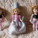 Lot of 3 McDonalds Vintage Madame Alexander Dolls