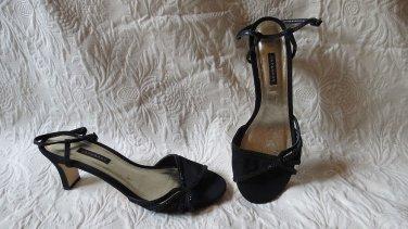 Caparros Black Sparkly Fancy Gorgeous Sandals Size  9.5