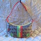 Super Cute Roca Wear Multi colored Fun Fabulous Purse Bag