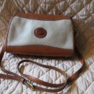 Gorgeous Dooney Bourke British Tan All Weather Purse Shoulderbag