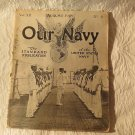 WW11 Periodical Our Navy Magazine August 1918 Issue  Piece of War History