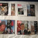 Vintage Lot of 13 Life Magazines From the 1965  Some RARE Cool Ones