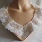 009 Gorgeous Lace Vintage Collar