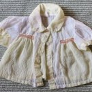 Super Duper Cute Yellow and White Doll Dress Top Clothes