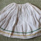 Vintage Adorable Baby Doll Skirt with Rick Rack